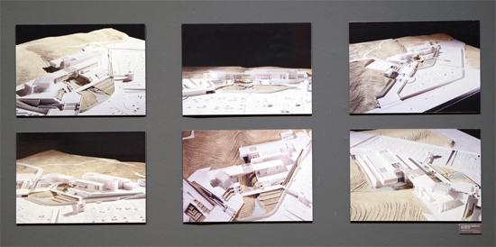 <설계 공모 당시 건축 모형 사진>